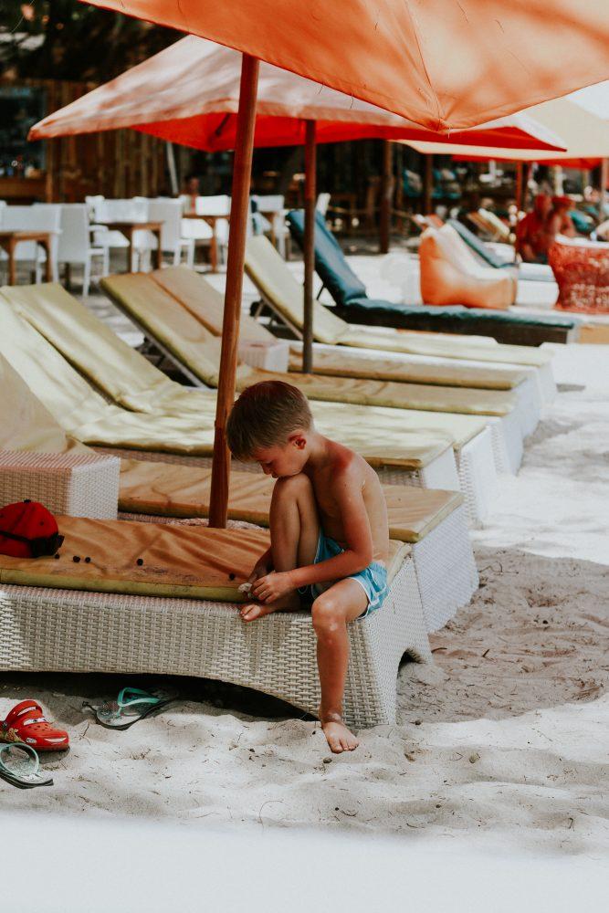 vakantie met je kind