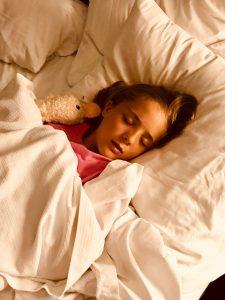 het slapen van je kind